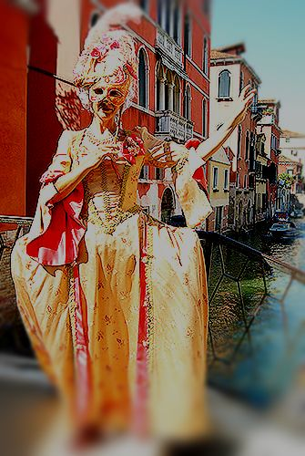 Historical Carnival Costumes Venice